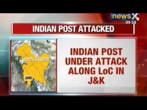 News X: Pakistan Army attacks Indian posts, 5 killed