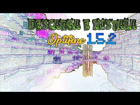COMO INSTALAR Y DESCARGAR OPTIFINE MINECRAFT 1.5.2 2014