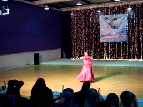 Камерилова Настя Индийский танец (...