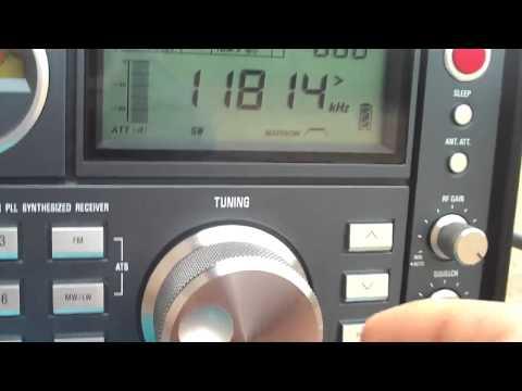 11815 khz Radio Brasil Central , RBC , Goiânia , Goiás , Brazil reiceved 535 KM