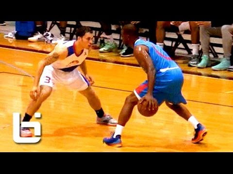 Chris Paul Shows Off His NASTY Handle at Seattle Pro Am Midnight Madness!
