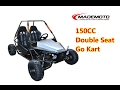 2 Seaters 150cc Go Kart GC1504 Video Show
