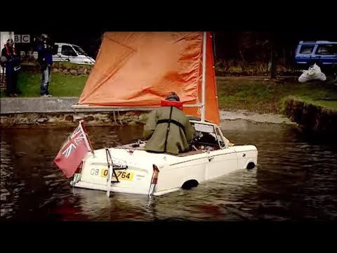 Amphibious Car Challenge - Top Gear - Series 8 - BBC