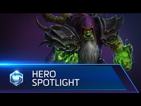 Gul'dan Spotlight - Heroes Of The Storm