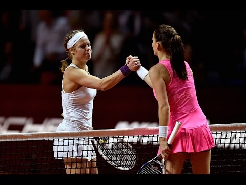 2016 Porsche Tennis Grand Prix Semifinals WTA Highlights