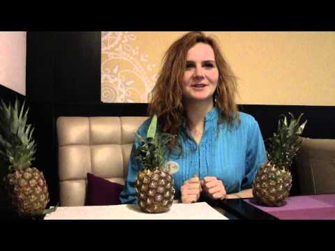 Видео как выбрать спелый ананас