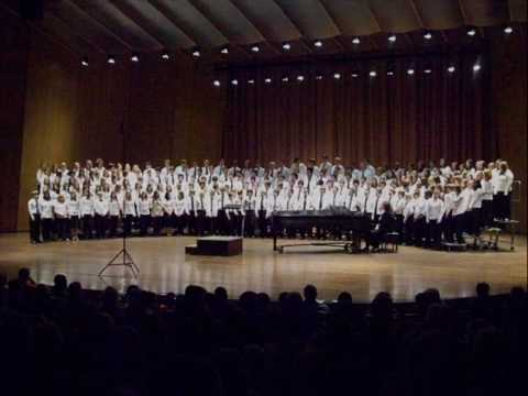The Pasture - '09 All-State Middle and Jr. High School SATB Choir