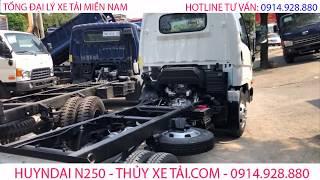 Xe tải 2.5 Tấn HYUNDAI N250 I New Mighty N250 Euro 4 - Tổng đại lý xe tải Miền Nam