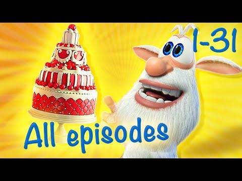 Booba - Compilation of All 31 episodes + Bonus - Cartoon for kids thumbnail