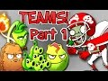 Plants vs. Zombies 2 it's about time: Team Plants vs All Star Zombie Part 1