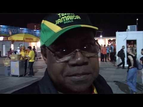 Usain Bolt winning Mens 100m Final at IAAF in Berlin 2009, breaking his own World Record @ IAAF Berl