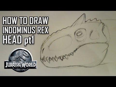 Видео как нарисовать Рекса