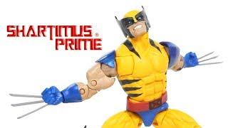 Marvel Legends Wolverine Tiger Stripe X-Men Apocalypse BAF Wave Marvel Action Figure Toy Review