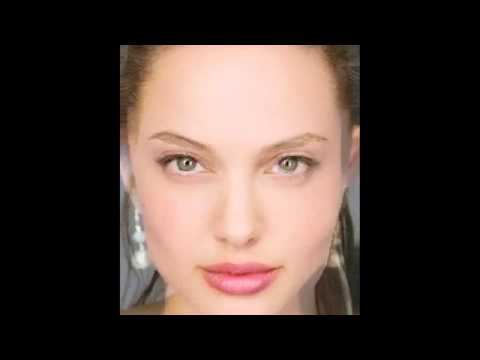 Angelina Jolie + Natalie Portman Face Morph video