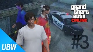 U.B.W.' GTA 5 Citizen Disguise: Police and Thief #3 - Last Episode (GTA Online Funny Gameplay)