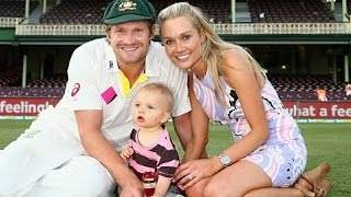 Australian Cricketers with their wives/ Girlfriends
