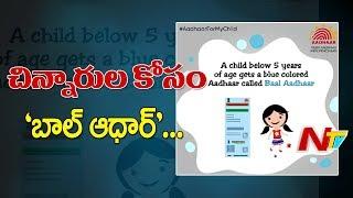 UIDAI Introduces 'Baal Aadhaar' Cards for Children Below 5 Years