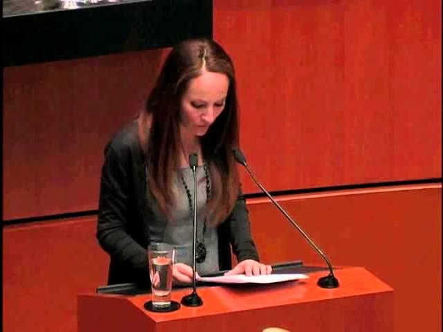 Intervención Senadora Cuevas :: 05 Febrero 2013