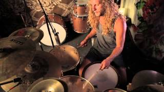 TOOTHGRINDER - Vibration/Colour/Frequency (Drum video)