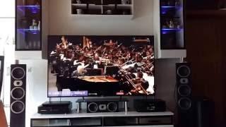 "Heco Victa Prime, Sony 75"" Android TV & Sony 7.2 AV-Receiver [Full HD]"