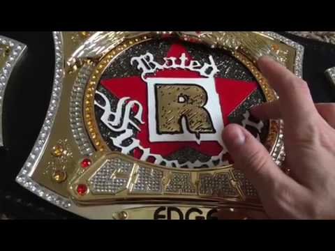 WWE Rated R Replica Belt Review