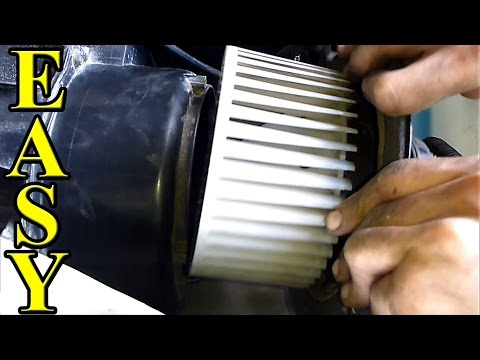 How to fix a Loud AC. Heat Fan (Blower motor)