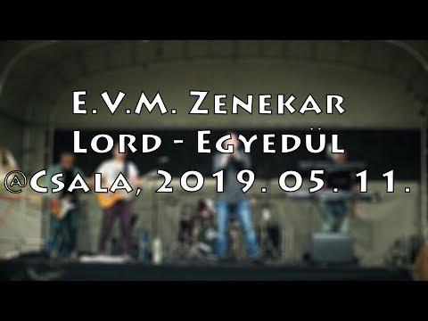 [ÉLŐ] E.V.M. koncert 2019. 05. 11. - Lord - Egyedül @Csala