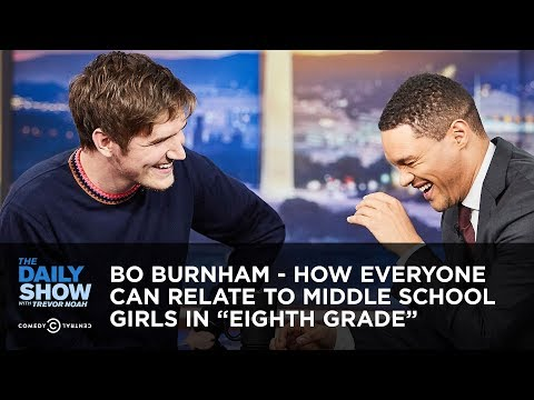 """Bo Burnham - How Everyone Can Relate To Middle School Girls In """"Eighth Grade"""" 