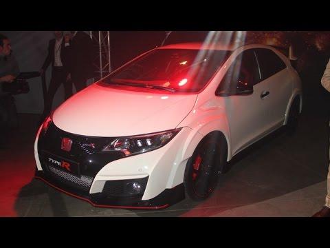 Salon de Genève 2015 - Honda Civic Type R et NSX