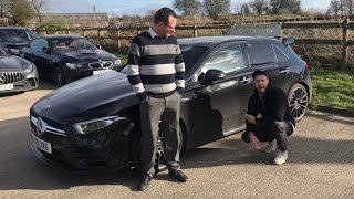 BUYING A MERCEDES A35 AMG FROM TONY!