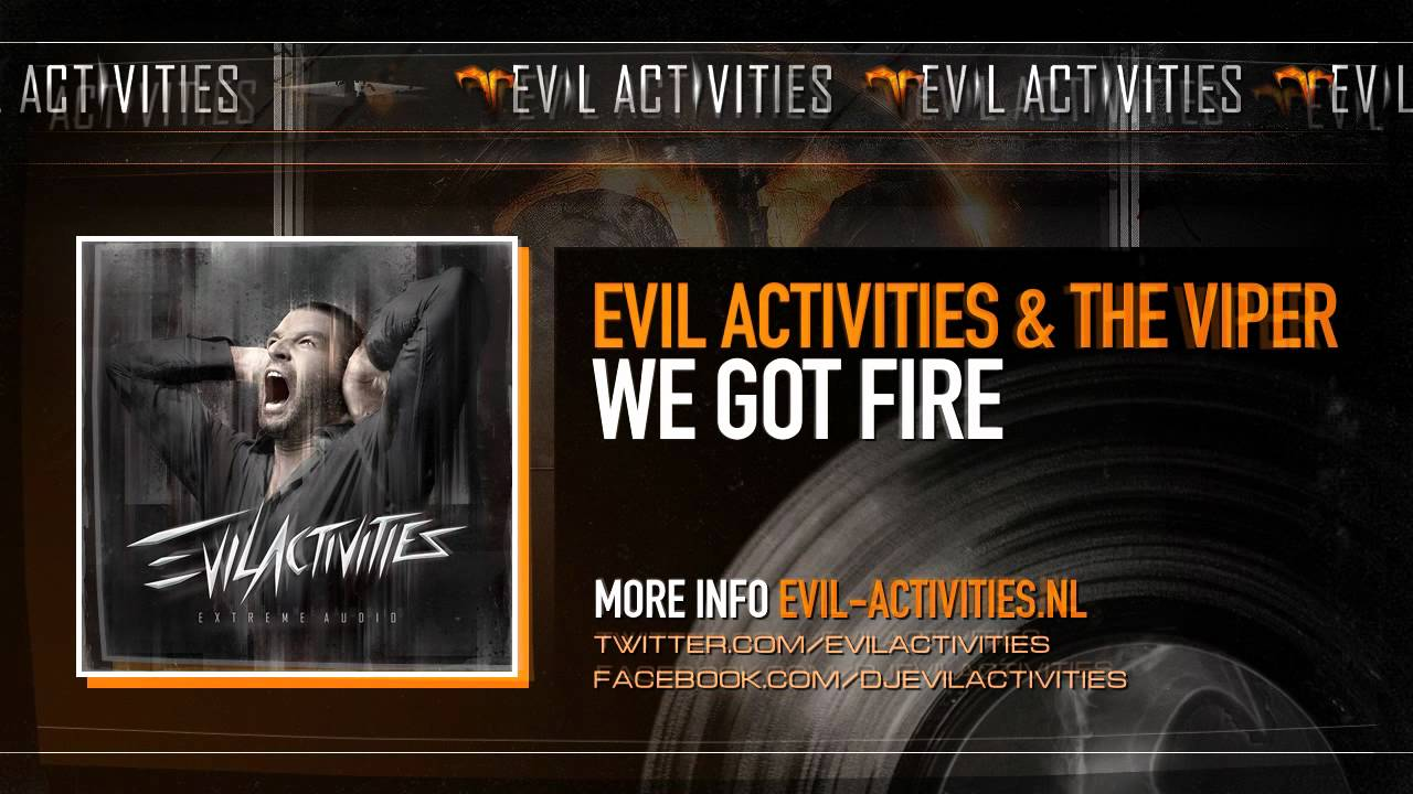 Evil Activities & Viper, The - Project: Hardcore