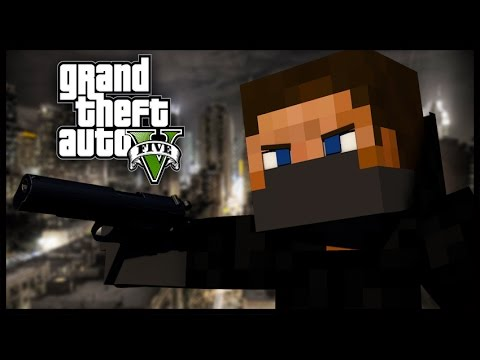 Minecraft - GTA V Mod - Grand Theft Auto 5 - FERRARI DRIVE-BY!