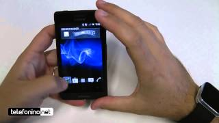 Sony Xperia Go videopreview da Telefonino.net