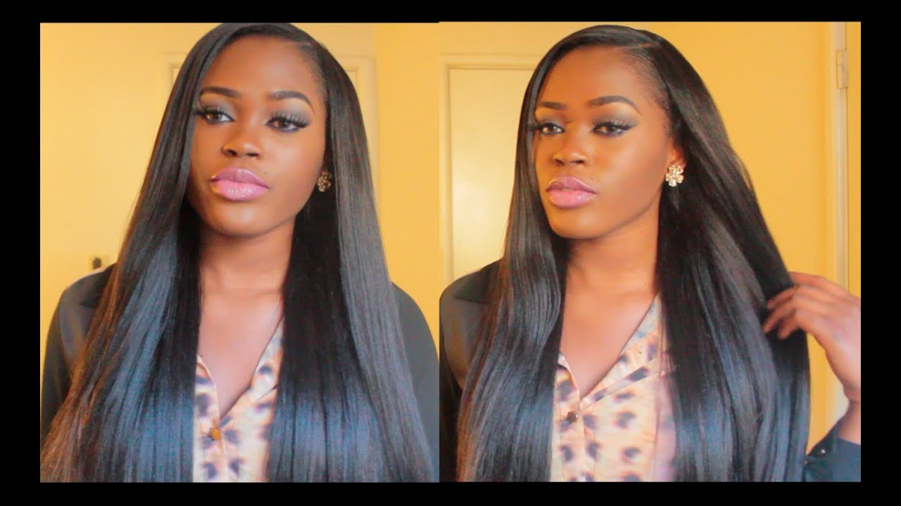 ... Add Volume To Your Hair, Wigs, Sew ins, etc + DIY Clip Ins - YouTube