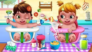 Fun Care Baby Game - Baby Twins Adorable Two - Play Fun Dress Up, Bath Time & Care Games For Kids