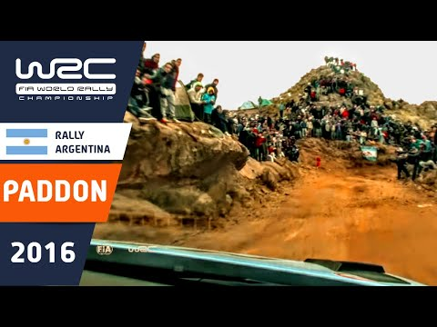 WRC - YPF Rally Argentina 2016: ONBOARD Paddon Power Stage SS18
