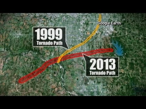 Tornado Destroys City For 2nd Time: Moore, Oklahoma Devastated By 1999 Twister