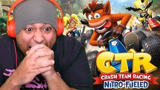 IS MARIO KART IN TROUBLE NOW?? [CRASH TEAM RACING] [REMAKE]