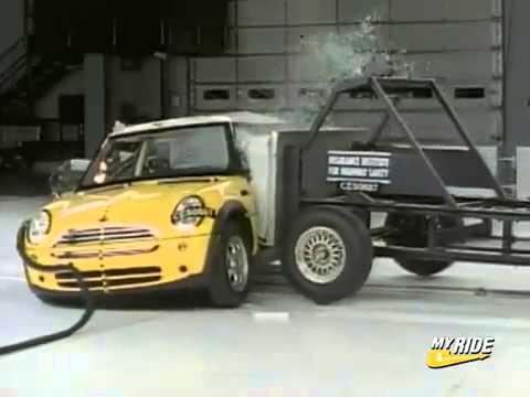 Краш-тест BMW Mini Cooper 2006