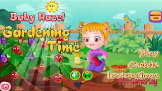 Kitchen Gardening Game for Kids- Baby Hazel Gardening [Cartoon]