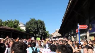 Edirne'den Taksim'e Destek
