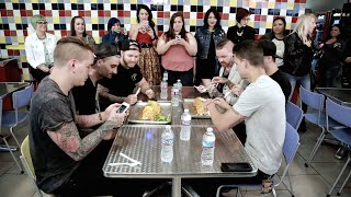 Band vs Food: We Came As Romans / Memphis May Fire