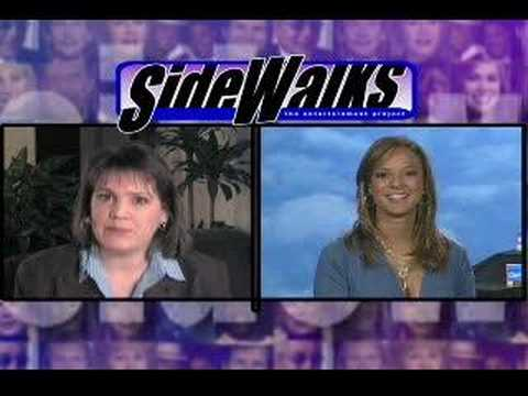 Sidewalks TV: Eva LaRue Interview (2007) Video