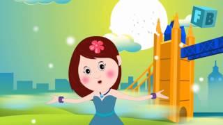 London Bridge Is Falling Down   FlickBox Nursery Rhymes and Kids Song with Lyrics