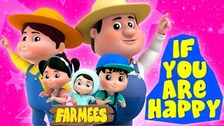 If You Are Happy | Song For Children | Kindergarten Video For Toddlers