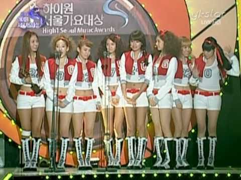 Snsd 2010 Seoul Music Awards [full] Feb03.2010 Girls' Generation Live video