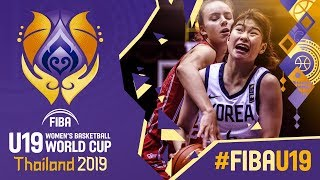 Korea v Hungary - Full Game - FIBA U19 Women's Basketball World Cup 2019