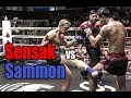 Muay Thai - Sensak vs Samuel Bark (แสนศักดิ์ vs แซมมอน), Phetchbuncha Samui Stadium, 3.1.18