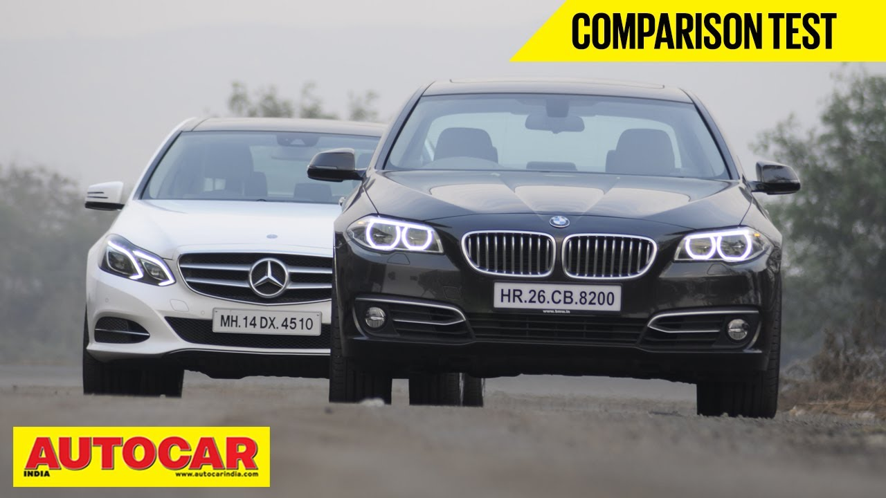 Bmw 520d Vs Mercedes Benz E250 Cdi Comparison Test