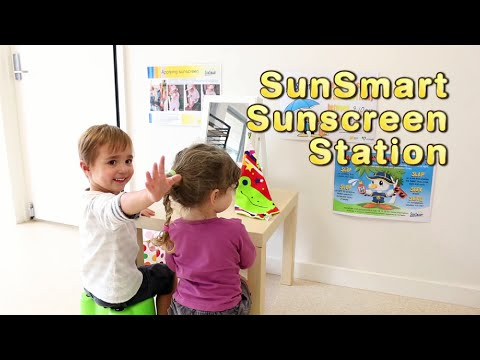 How to Make Your Own Sunscreen Station - SunSmart